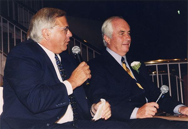 Les Levine and Roger Penske