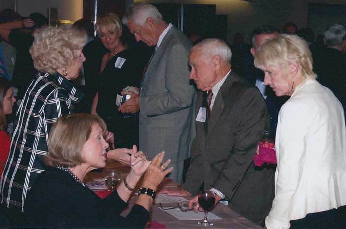 Jim and Kathy Pender, Mary Herrick, Susan Ziegler, Daniele Blessing
