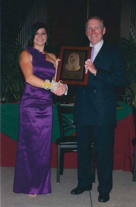 Dominique Moceanu and Jack Herrick