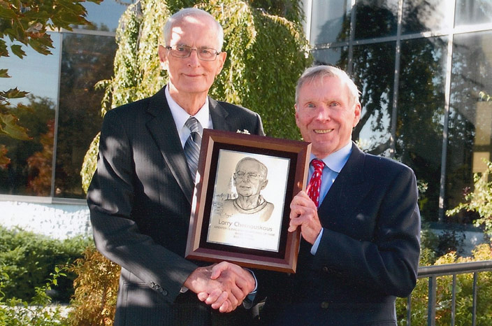 Larry Chernauskas and Jack Herrick